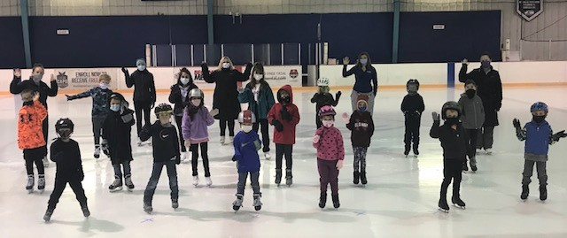 STAYING SAFE WHILE LEARNING TO SKATE!